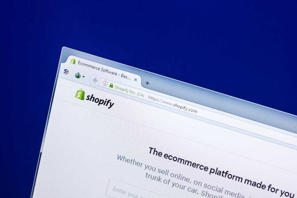 Shopify, the ecommerce platform